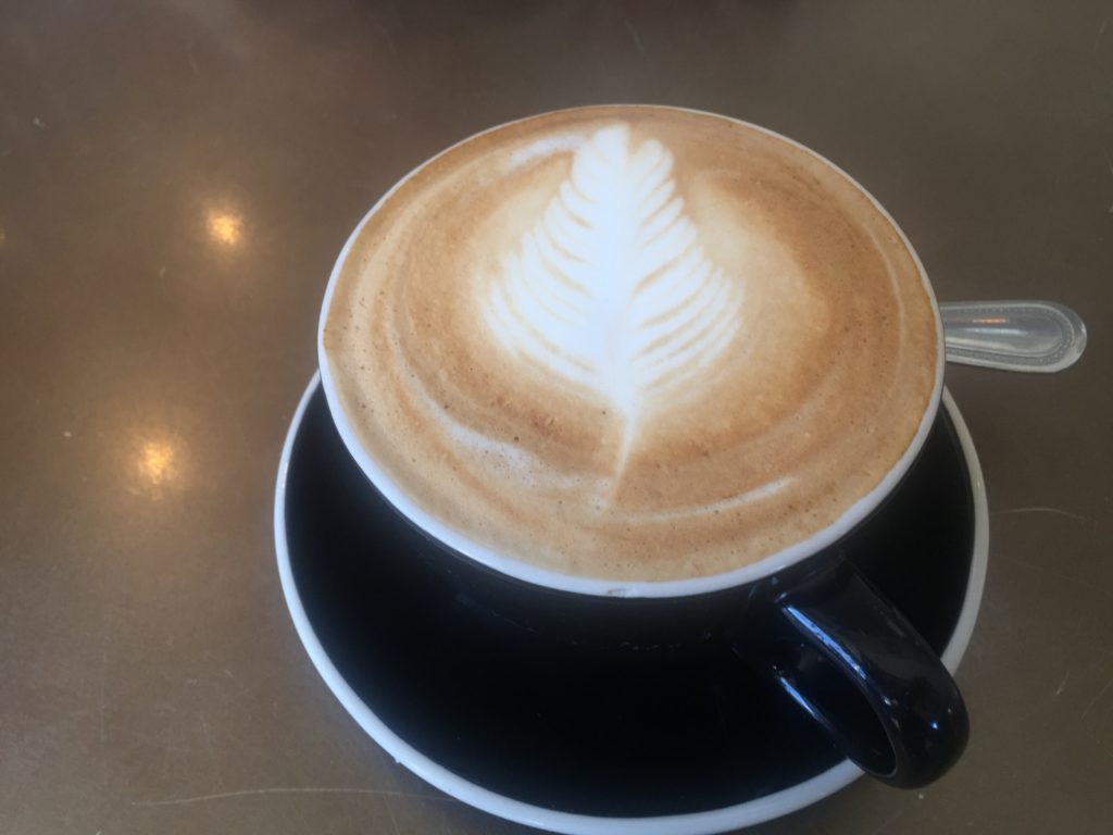 Cappuccino from Everyman.