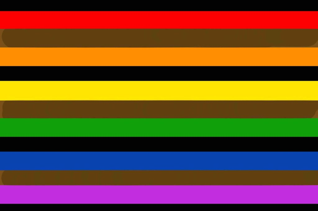 Alternative Design for Intersection Pride Flag